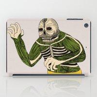 The Original Glowing Skull iPad Case