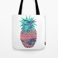 Maui Pineapple Tote Bag