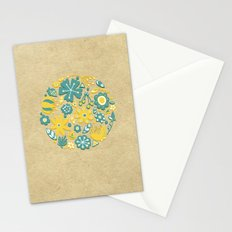 Little Flower Circle Stationery Cards