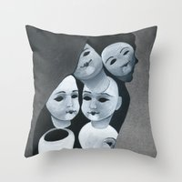 The Aging Ritual Throw Pillow
