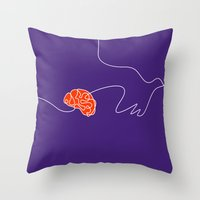 Give Wings To Dreams Throw Pillow