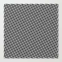 Canvas Print featuring BLACK DOT by Mr.DOT