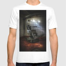 Dentist horror Mens Fitted Tee SMALL White