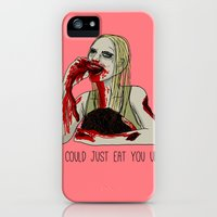 iPhone 5s & iPhone 5 Cases featuring Eat You Up by Stephanie Shank