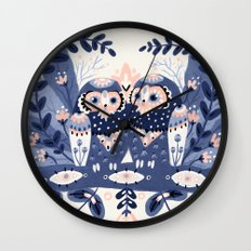 Owl Only Have Eyes For Y… Wall Clock