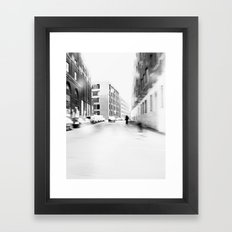 Vanish Framed Art Print