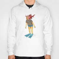 Hoody featuring Pescado by Juan Weiss