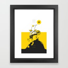 Weekend Warrior Framed Art Print