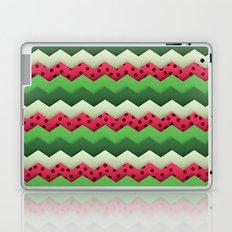 Watermelon Chevron Laptop & iPad Skin