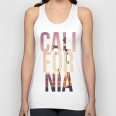 CALI FOR NIA Unisex Tank Top