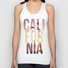 CALI FOR NIA Unisex Tank Top