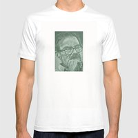 MAURICE  FOREVER! Mens Fitted Tee White SMALL