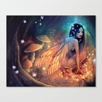 Fairydust Nest Canvas Print