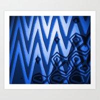 Submerge Art Print