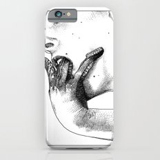 asc 427 - La femme introvertie (She tries to reach into her guts) iPhone 6 Slim Case