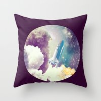 up to Space!  Throw Pillow