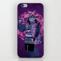 Samurai Kitty iPhone & iPod Skin