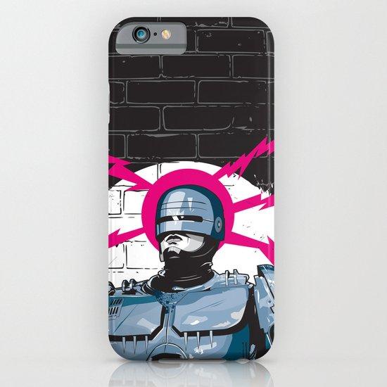 Robocop In Love iPhone & iPod Case