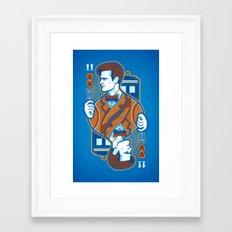 11th of Hearts Framed Art Print