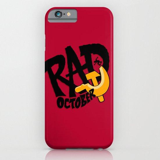 Rad October iPhone & iPod Case