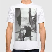 Caribou Mens Fitted Tee Ash Grey SMALL