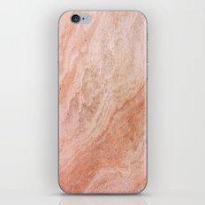 Polished Rose Gold Marble iPhone & iPod Skin
