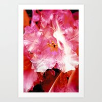 Flower Nymphs Art Print