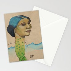 LONELY MERMAID Stationery Cards