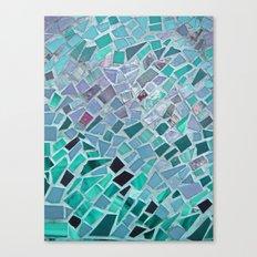 Energy Mosaic Canvas Print