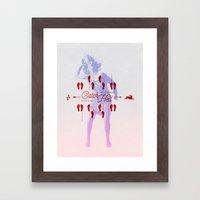 Catch Hell Framed Art Print