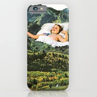 iPhone Cases featuring Rising Mountain by Eugenia Loli