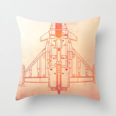 Faster | speed electronic sound Throw Pillow