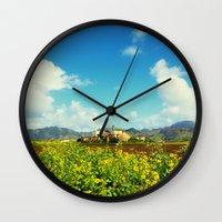 Sugar Mill Wall Clock