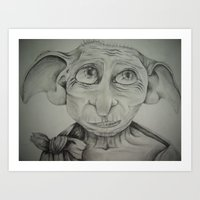 Free Elf Art Print