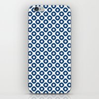 Kanoko In Monaco Blue iPhone & iPod Skin