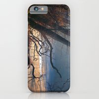 Fall misty stream iPhone 6 Slim Case