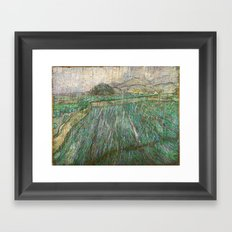 Vincent Van Gogh - Rain Framed Art Print