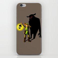 The Hero's Lantern iPhone & iPod Skin