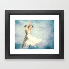 Foxtrot Framed Art Print