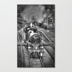 The Golden Age of Steam Canvas Print