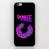 DONUT PANIC [LOST TIME] iPhone & iPod Skin