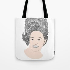 My Tennessee Mountain Hair Tote Bag