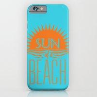Sun Of A Beach iPhone 6 Slim Case