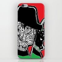 One, Two Freddys coming for you. iPhone & iPod Skin