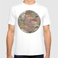 Fishes & Flowers - Seaml… Mens Fitted Tee White SMALL