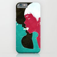 iPhone & iPod Case featuring future lovers-no.2 by Mojo Wang