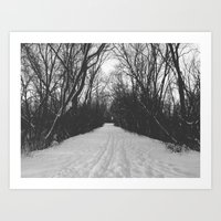 Paths Traveled Art Print