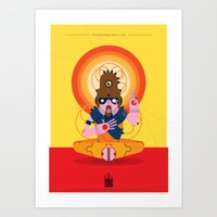 The Inscrutable Lord Ov … Art Print