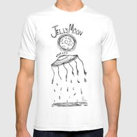 Jelly Moon V.2 Mens Fitted Tee White SMALL