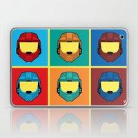 Warhol's Red vs Blue Laptop & iPad Skin